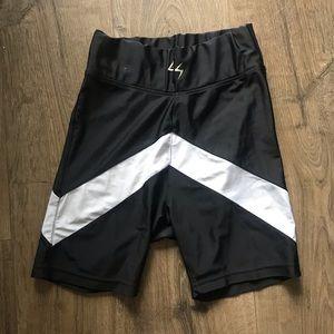 Colour Block Bike Shorts